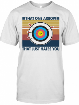 Target That One Arrow That Just Hates You Vintage T-Shirt