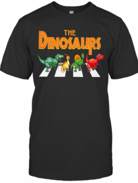 The Dinosaurs Abbey Road T-Shirt