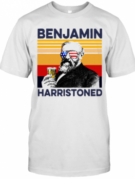 US Drink Benjamin Harristoned Independence Day T-Shirt