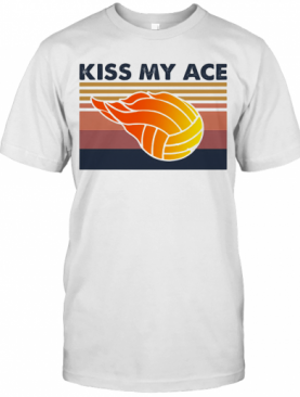 Volleyball Kiss My Ace Vintage T-Shirt