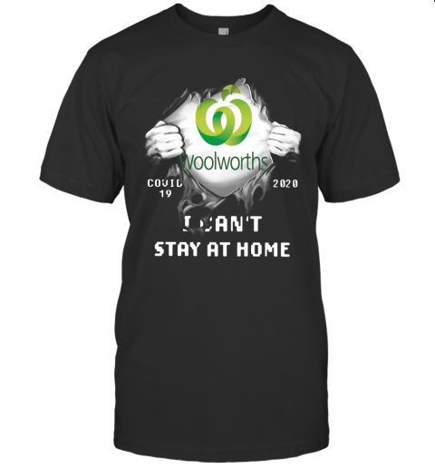 Woolworths Inside Me Covid 19 2020 I Can't Stay At Home T-Shirt Classic Men's T-shirt