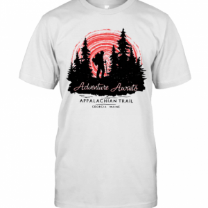 Adventure Awaits Appalachian Trail Camping T-Shirt Classic Men's T-shirt