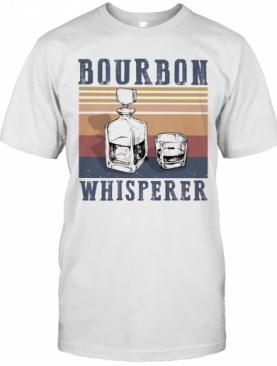 Bourbon Whisperer Vintage Retro T-Shirt