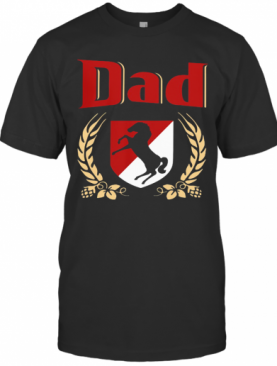 Dad Armored Cavalry Regiment Happy Father'S Day T-Shirt
