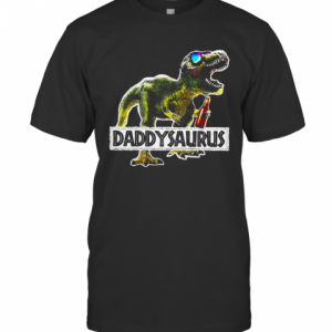 Daddysaurus Drinking Beer Party T-Shirt Classic Men's T-shirt
