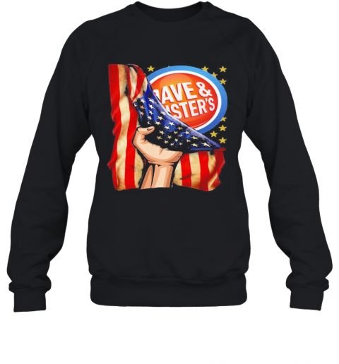 Dave And Busters American Flag Independence Day T-Shirt Unisex Sweatshirt