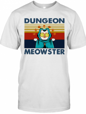 Dungeon Meowster Vintage T-Shirt