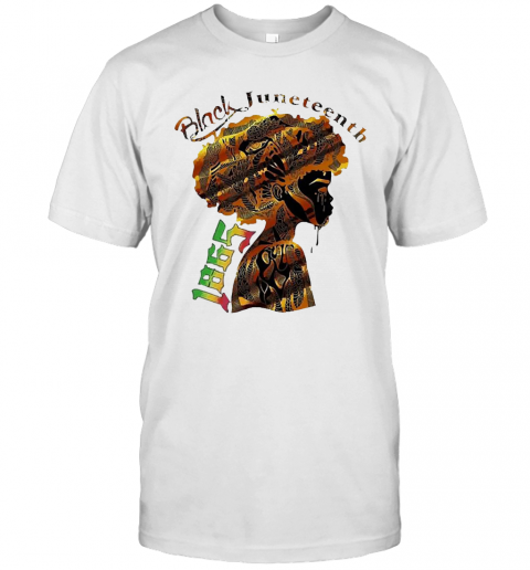 Girl Black Juneteenth Since 1865 T Shirt Classic Mens T shirt 1