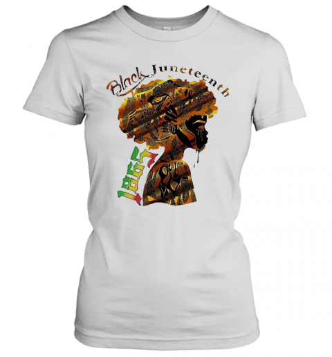 Girl Black Juneteenth Since 1865 T-Shirt Classic Women's T-shirt