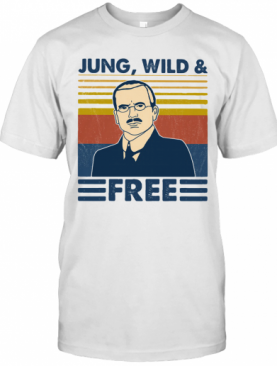 Jung Wild And Free Vintage Retro T-Shirt