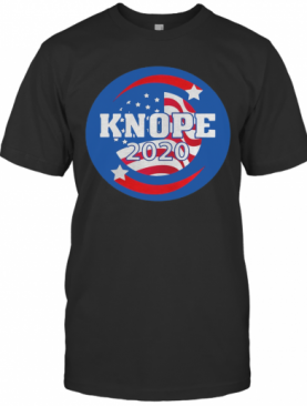 Leslie Knope For President 2020 American Flag Independence Day T-Shirt