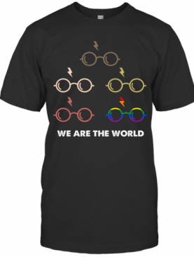 Lgbt Harry Potter We Are The World T-Shirt