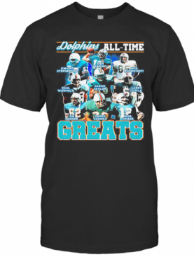 Miami Dolphins All Time Greats T-Shirt