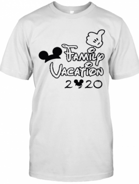 Mickey Mouse Ear Family Vacation 2020 T-Shirt
