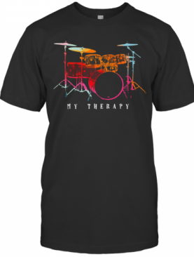 My Therapy Drum Color T-Shirt