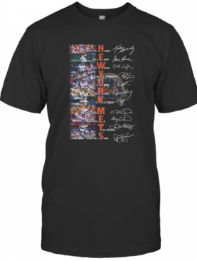 New York Mets Team Keith Hernandez Tom Seaver Signature T-Shirt