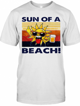 Sun Of A Beach Vintage T-Shirt
