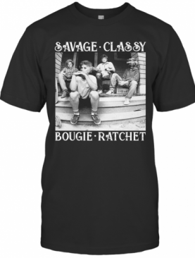 The Golden Girls Savage Classy Bougie Ratchet T-Shirt