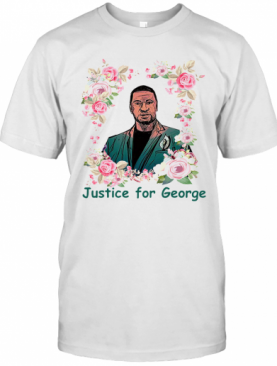 Top Justice For George Floyd Floral I Can'T Breathe T-Shirt