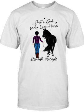 Walking With Horse Customized T-Shirt
