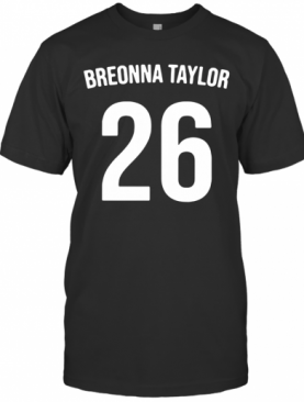 Breonna Taylor Say Her Name T-Shirt