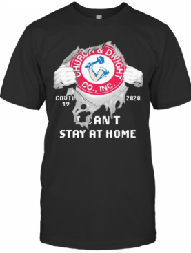 Churoa And Dwight Co.,INC I Can'T Stay At Home Covid 19 2020 Superman T-Shirt