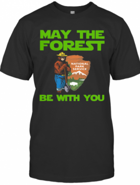 Farmer Bear May The Forest Be With You T-Shirt