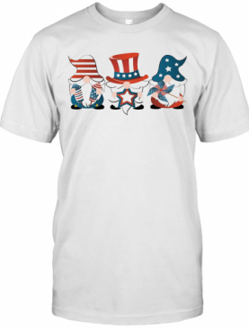 Gnomes America 4Th Of July Independence Day Stars T-Shirt