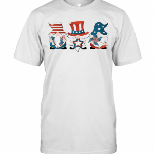 Gnomes America 4Th Of July Independence Day Stars T-Shirt Classic Men's T-shirt