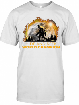 Hide And Seek World Champion Apes Sun T-Shirt