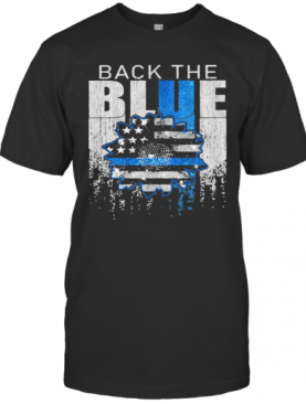 Independence Day Black The Blue T-Shirt