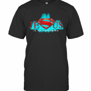 Jesus Is My Superhero T-Shirt Classic Men's T-shirt