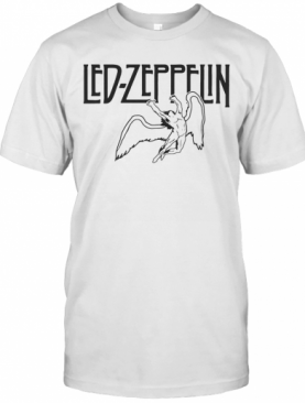 Led Zeppelin Swan Song Wings T-Shirt