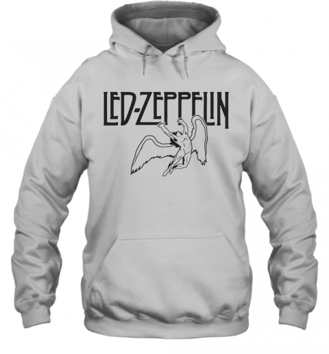Led Zeppelin Swan Song Wings T-Shirt Unisex Hoodie