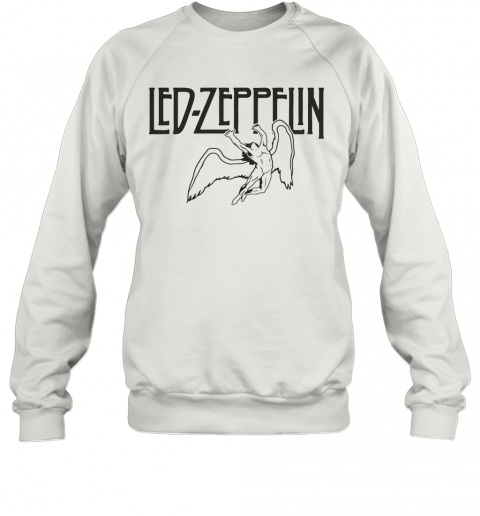 Led Zeppelin Swan Song Wings T-Shirt Unisex Sweatshirt