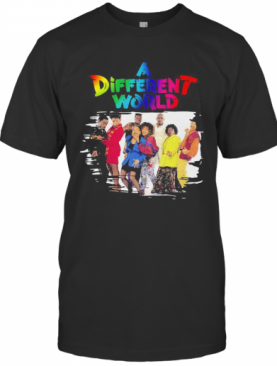 Lgbt A Different World Characters T-Shirt