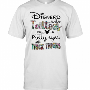 Mickey Disnerd With Tattoos Pretty Eyes And Thick Thighs T-Shirt Classic Men's T-shirt