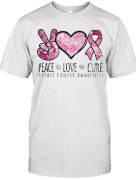 Pace Love Cure Breast Cancer Awareness T-Shirt