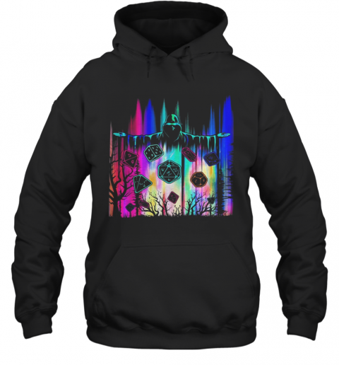 Polyhedron Blocks The Man In Black Color T-Shirt Unisex Hoodie