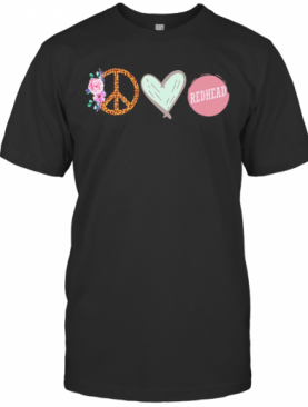Ring Rose Heart Redhead T-Shirt