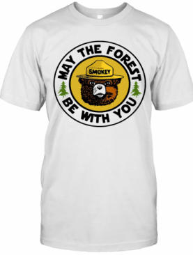 Smokey Bear May The Forest Be With You T-Shirt