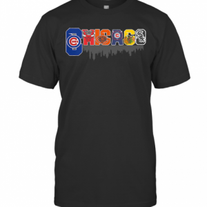 Sport In Chicago City T-Shirt Classic Men's T-shirt