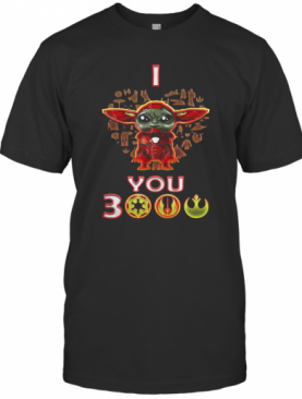 Star Wars Baby Yoda Iron Man I Love You 3000 T-Shirt