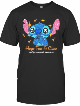 Stitch Hope For A Cure Multiple Sclerosis Awareness T-Shirt