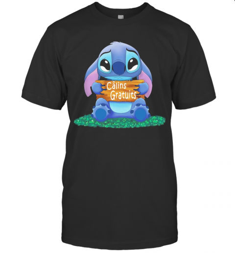 Stitch crying calins gratuits T Shirt Classic Mens T shirt