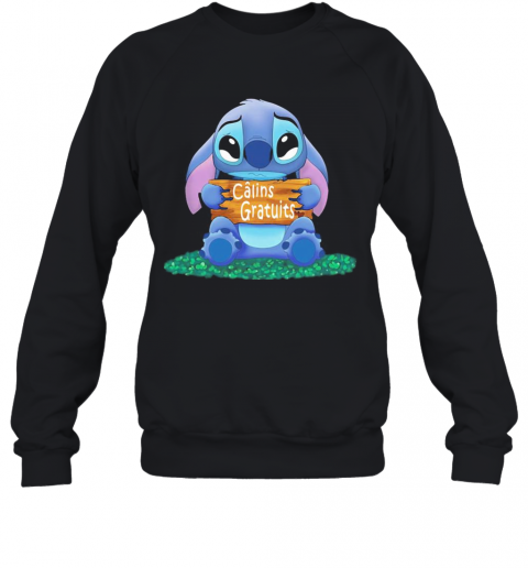 Stitch crying calins gratuits  T-Shirt Unisex Sweatshirt