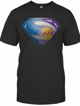 Superman Los Angeles Dodgers And Los Angeles Lakers T-Shirt