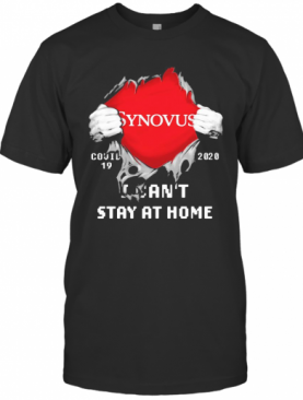 Synovus I Can'T Stay At Home Covid 19 2020 Superman T-Shirt
