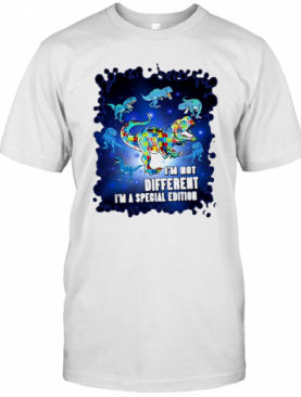 T Rex I'M Not Different I'M A Special Edition T-Shirt