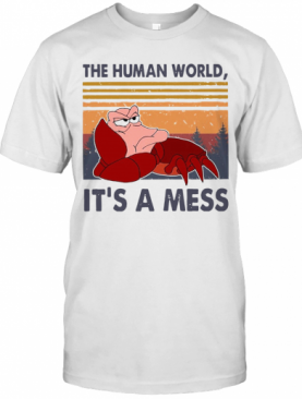 The Human World It'S A Mess Vintage T-Shirt